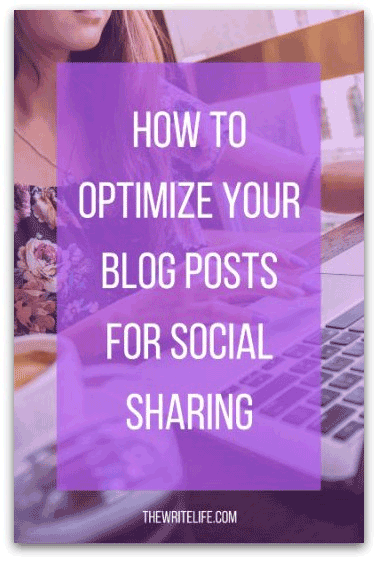 how to optimize your blog posts for social sharing